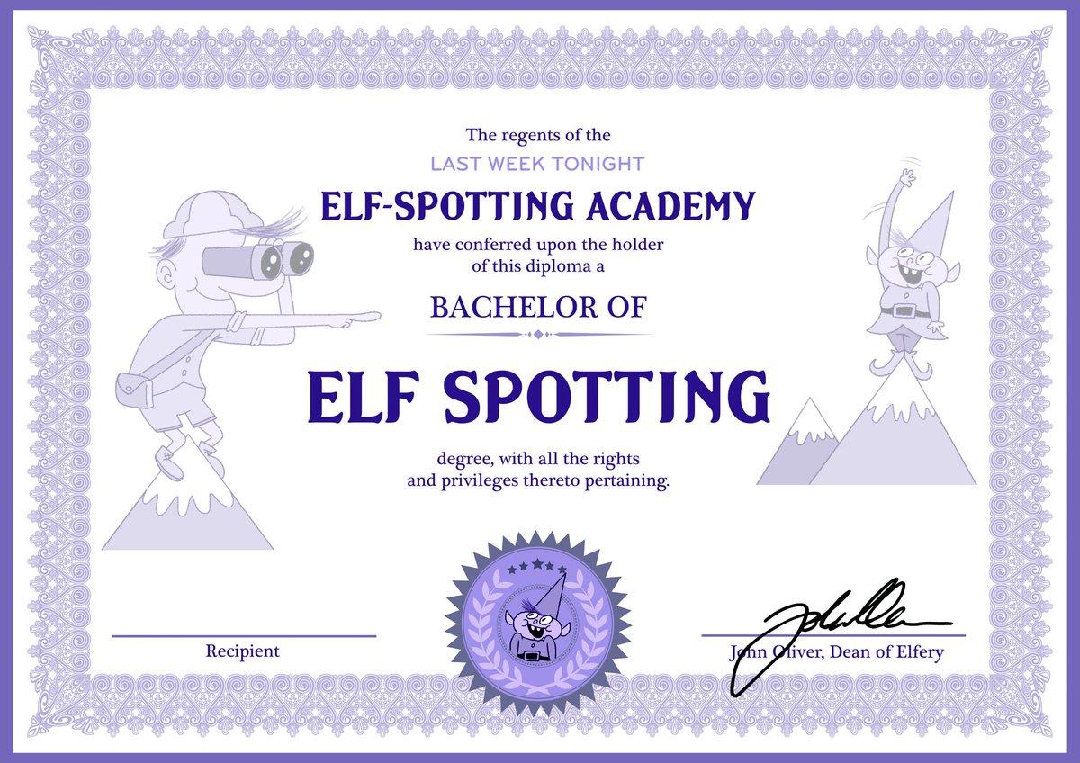 certification degree