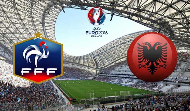 Vedere FRANCIA ALBANIA Diretta Streaming calcio gratis VIDEO Live Rojadirecta TV Oggi 15 giugno Euro 2016
