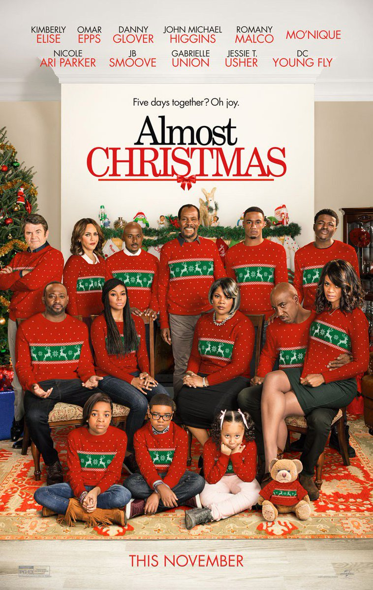 New 'Almost Christmas' Trailer & Poster Released 2
