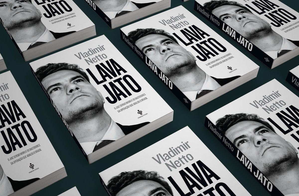 O livro do jornalista @vnetto , que acompanha de perto a operação que está abalando o Brasil, chegou da gráfica! https://t.co/loeDKYtFHR