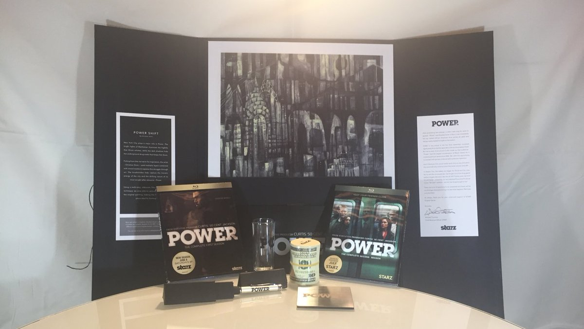 .@Power_STARZ SSN2 starring @OmariHardwick is now on Blu-ray & DVD. RT&Fav to WIN all this swag! (US entries only) https://t.co/jeNbNfrBLl