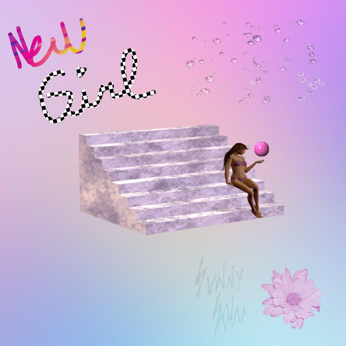 Here's the first single *NEW GIRL* https://t.co/cNzwByz4KI ✨ Artwork/Production By Sunny Solar https://t.co/QaEYgIoxPF