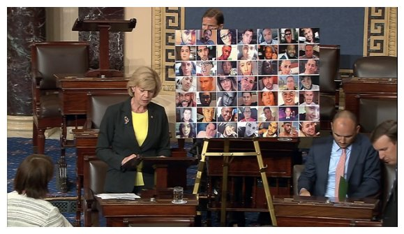 Photos of the murdered are now on the floor & they're talking about each person <3 #filibuster https://t.co/88JbZ1pr7A