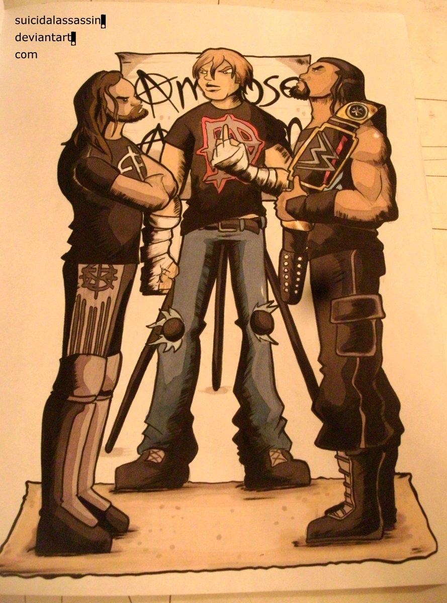 Suicidal Assassin On Twitter My Fan Art Of Wwe Raws Shield
