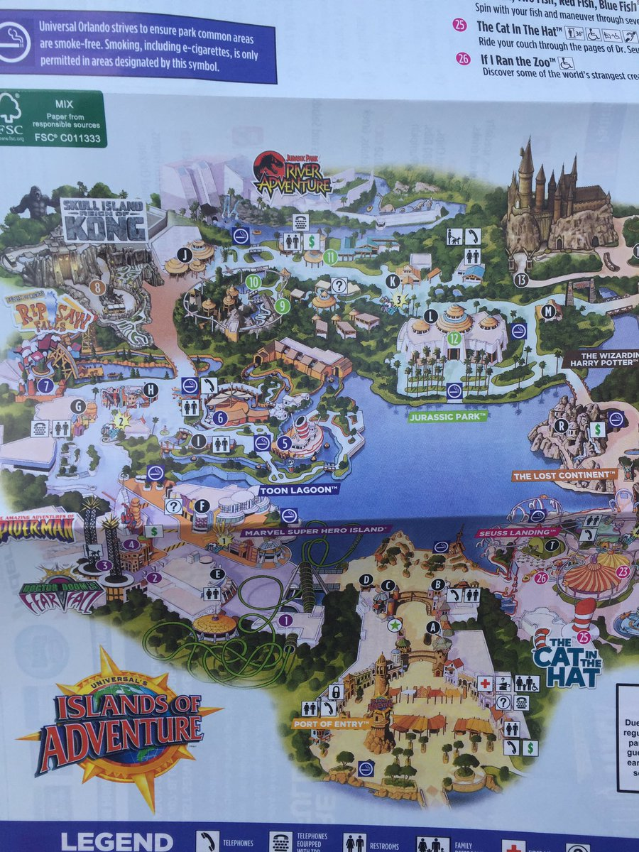 Inside Universal on Twitter New Park map featuring new Universal