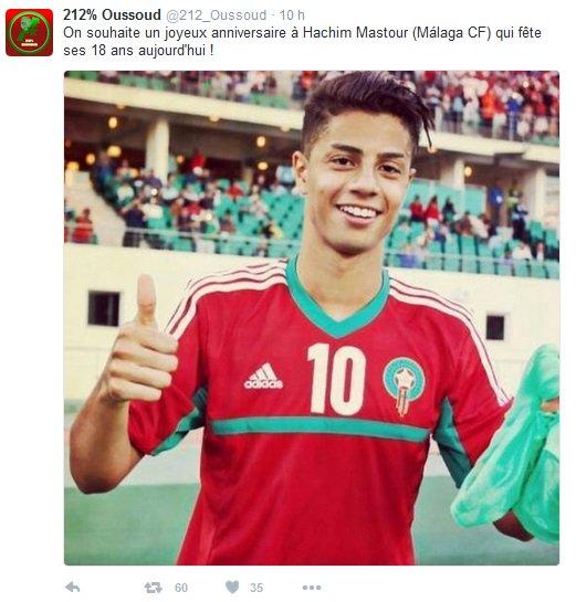 Football Maroc On Twitter Joyeux Anniversaire Au Marocain Hachim