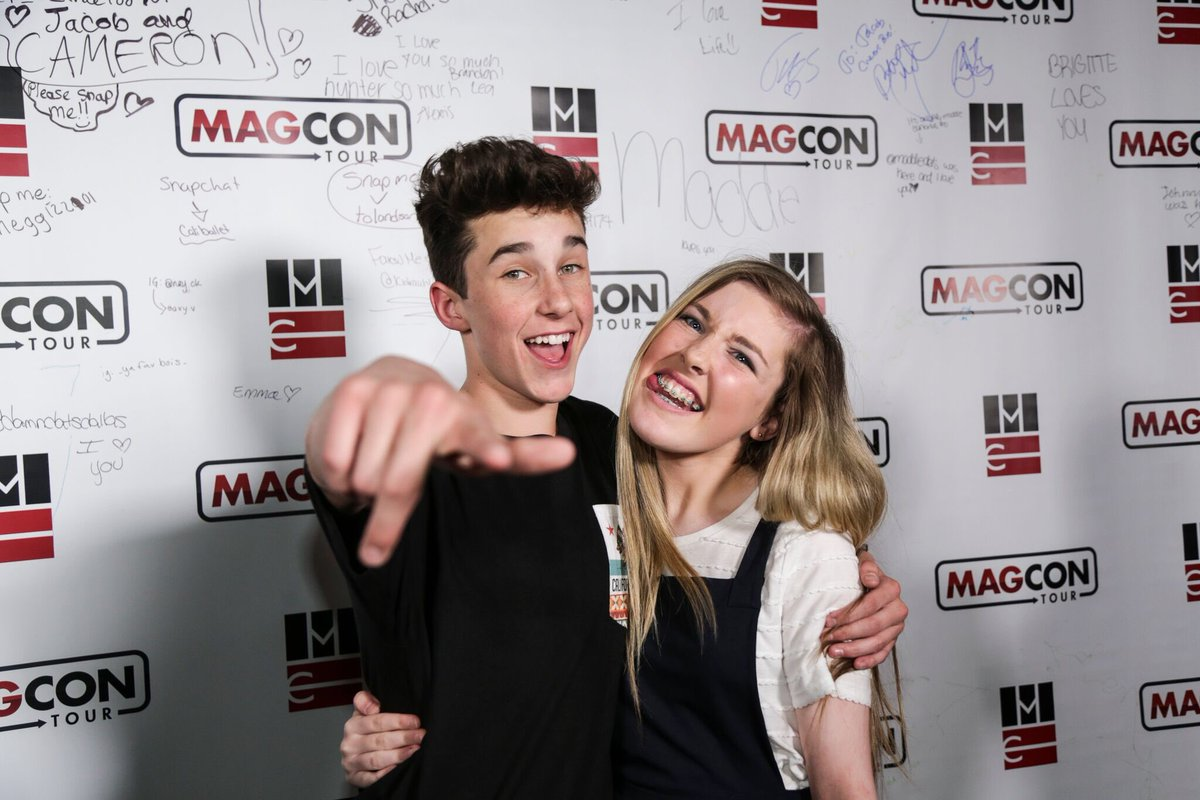 Magcon updates on twitter hq photos of hunter rowland having fun magcon updates on twitter hq photos of hunter rowland having fun with fans at the magcon meet and greet in dublin ireland may 26 m4hsunfo