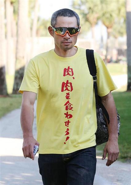 イチローTシャツシリーズはコラにしか見えない