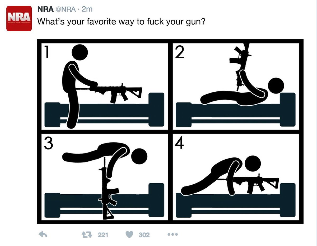 Someone hacked the NRA Twitter, but thankfully @SizzlerKistler got a screenshot! https://t.co/deFh7KgF4x