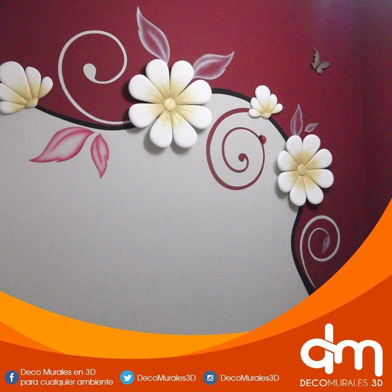 deco murales en 3d decomurales3d twitter On murales en 3d para cualquier ambiente