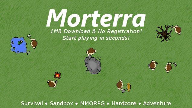 Morterra – Free 2D Online Survival MMORPG
