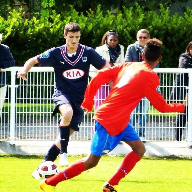 Cfa Girondins : Oscar Cornelis à Tarbes - Formation Girondins