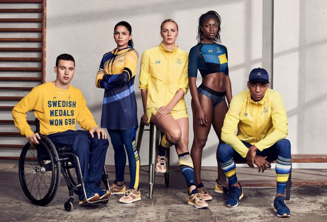 Proud to introduce you to the @sweolympic kit designed by @hm!  #Sweteam #RoadtoRio #Rio2016 🏅