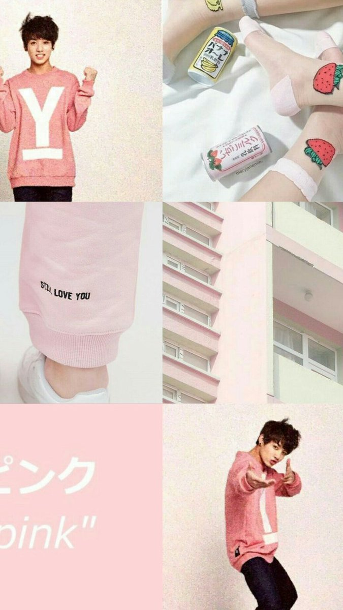 Bts Wallpapers On Twitter For Brittannyybear Jk Aesthetic Pink