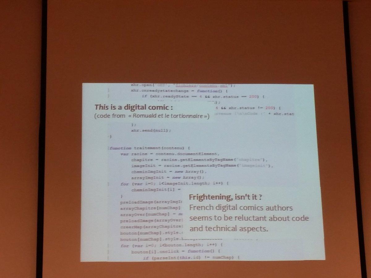 Récits-interfaces: c'est a BD numérique - Anthony Raegul #algopoetics https://t.co/xHligT7ZNF