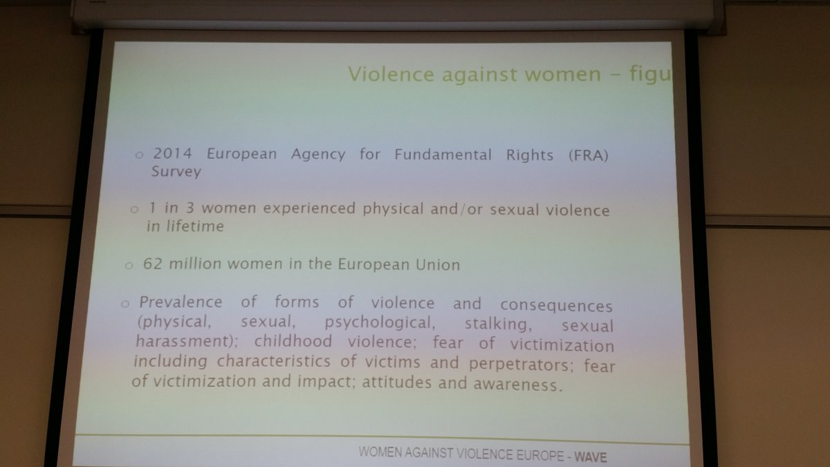 #carvedaphne 62 million women suffer violence in EU @henrydesio @AshokaSpain @ashokaus https://t.co/MAWyhje3s4