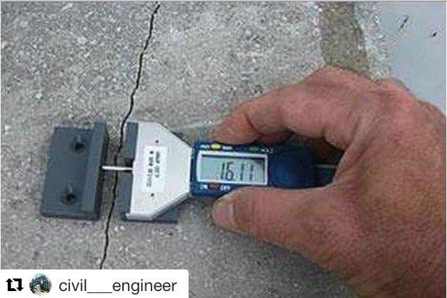 Testigo para monitoreo de grietas en el hormigón