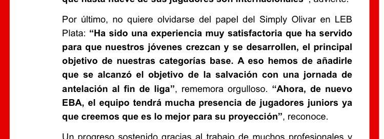Olivar no contará con el apoyo de CAI Zarao ClE1WzCWQAAfIMg