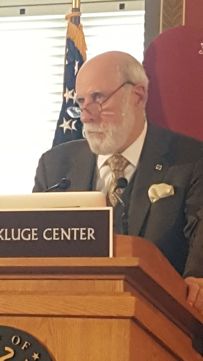 At @KlugeCtr #SaveTheWeb conference, @VGCerf: In 22nd Century we may know more about Lincoln Admin. than Obama Admin https://t.co/a4buzzivJl