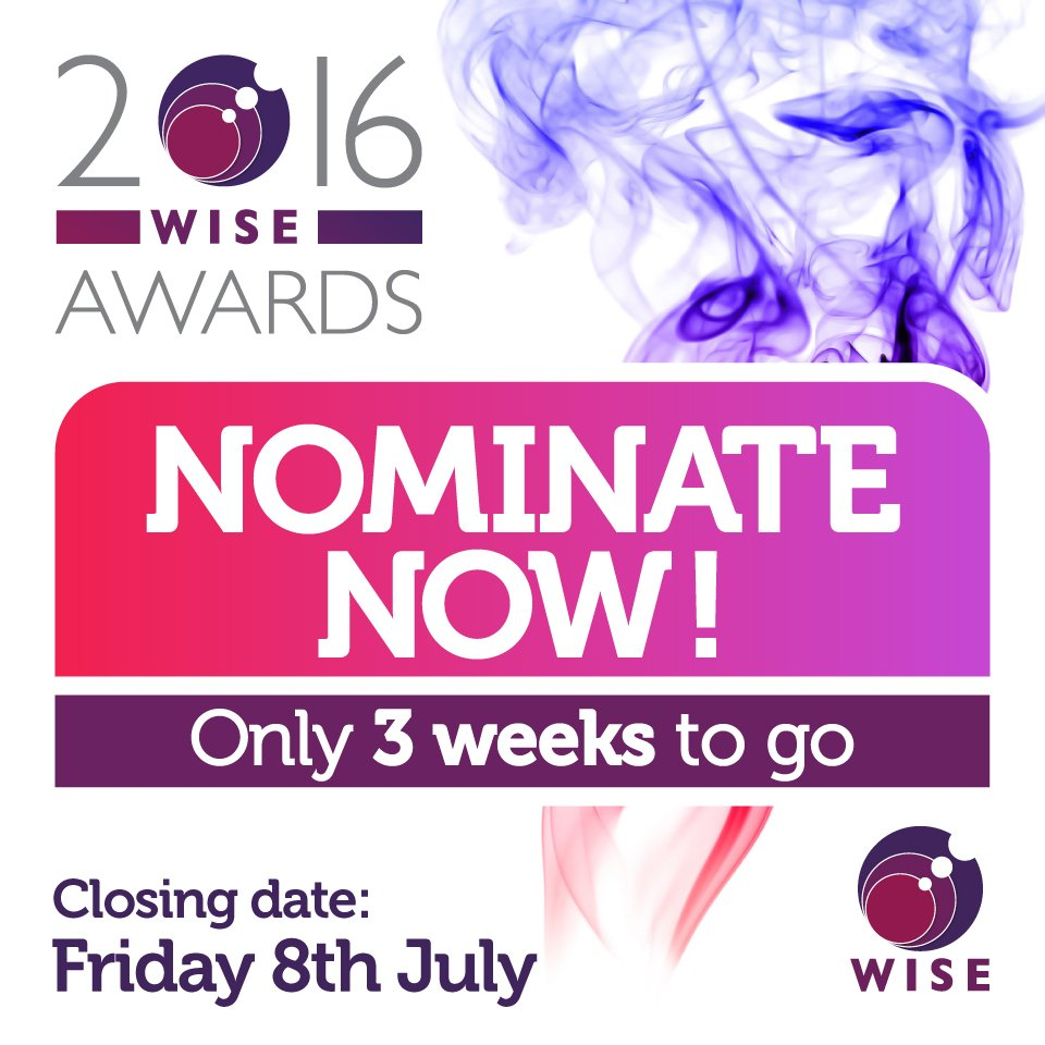 Have you nominated yet?There are 10 categories to recognise #STEM women, men & organisations https://t.co/Xwc7sURC30 https://t.co/KUCjBNDV8X