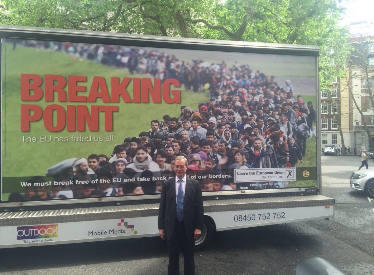 This image sums up why I voted #Remain: Not every Leave voter is a racist, but every racist will vote Leave. https://t.co/FvIWTvVQGg