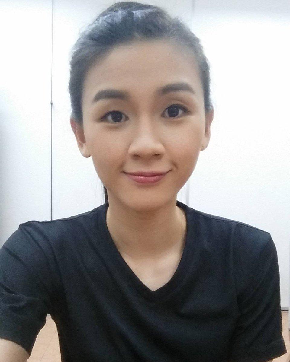 """IG Badminton Now on Twitter """"Kak Woon Khe Wei pun mau syuting"""