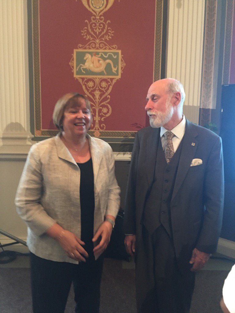 Ready for the event with @DameWendyDBE and keynote Vint Cerf - #SaveTheWeb https://t.co/kBsV3ZR6fc