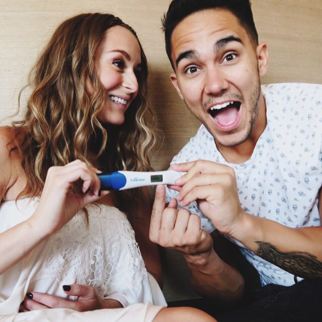 Breaking news! It's #ClearblueConfirmed a lil PenaVega is on the way! #ItsHappening #HolyWow #ClearbluePartner