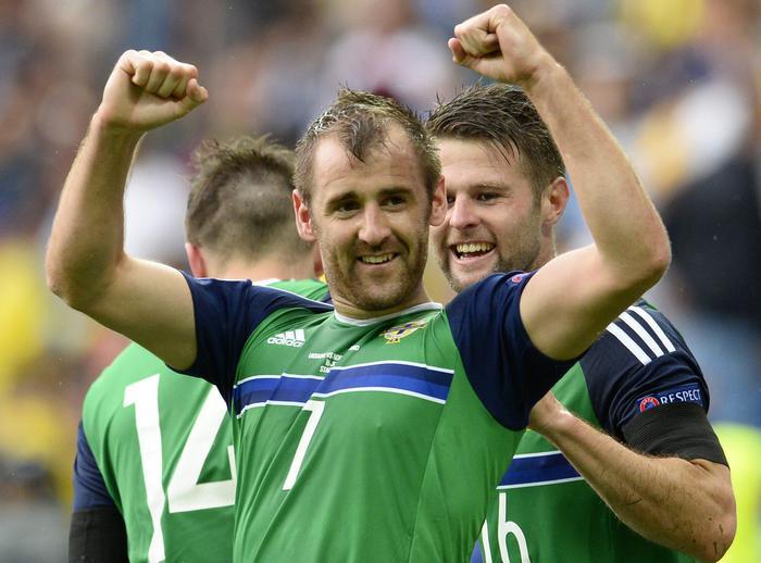 IRLANDA DEL NORD vince sull'Ucraina girone C di Euro2016 (VIDEO)