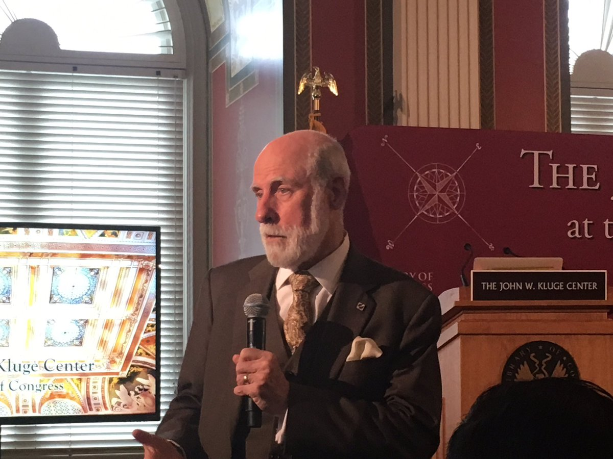 Vint Cerf: build preservation into the norm rather than as the action of a few parties #SaveTheWeb https://t.co/ux5BW4qMb4
