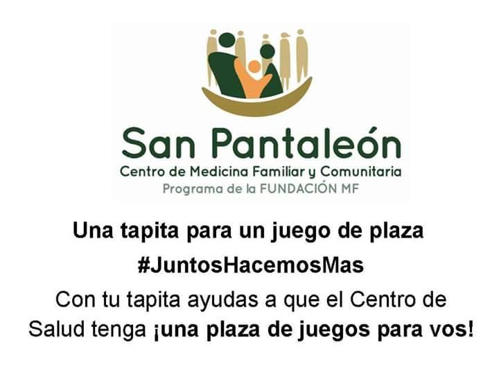 San Pantaleon On Twitter En San Pantaleon Juntamos Tapitas De