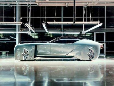 Rolls-Royce Vision 100 concept car: PHOTOS