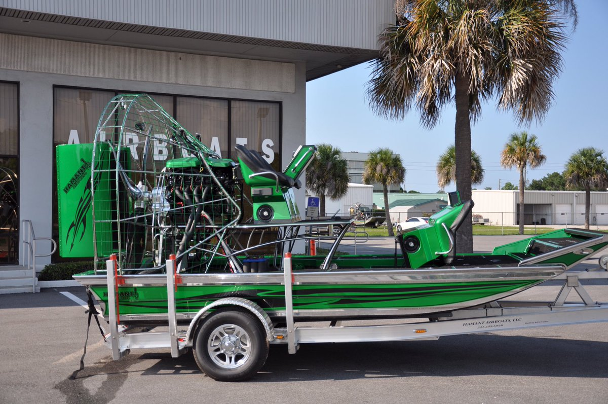 Hamant Airboats on Twitter: