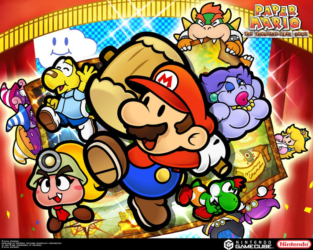 Nintendo Might Remaster Paper Mario: The Thousand-Year Door if Fans AreVocal https://t.co/GH9GmFrPnA https://t.co/Htvl41DJrM