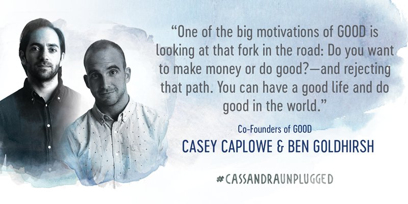 Define your own path. @good #cassandraunplugged https://t.co/T3dLdZIFlE