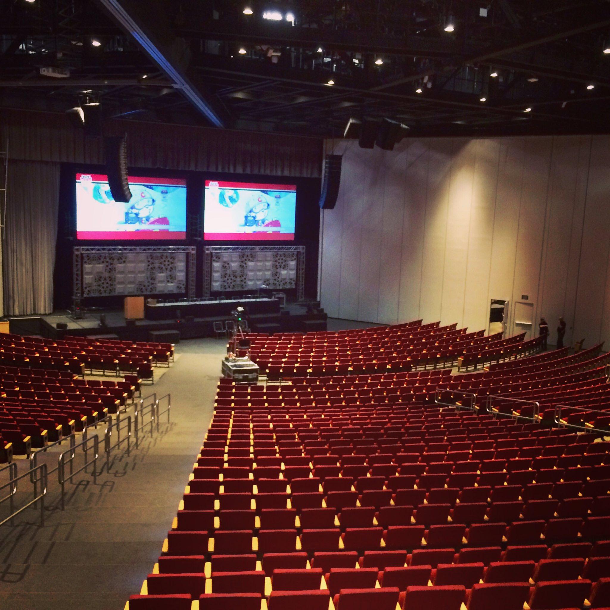 """Denver Comic Con On Twitter: """"Testing AV In The Bellco"""