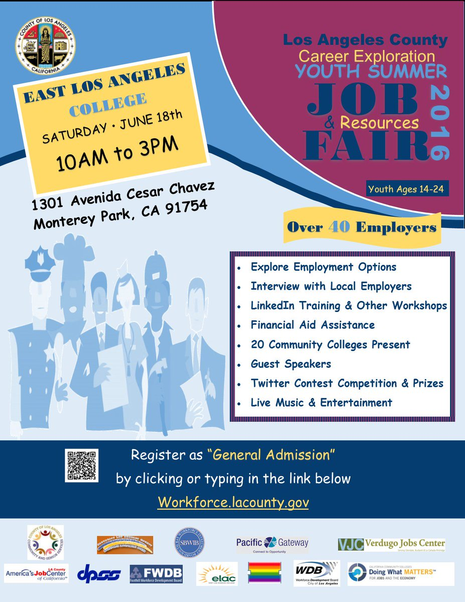 If you're 14-24 yo & want to gain job experience or enroll in school, you will NOT want to miss this! #college #jobs