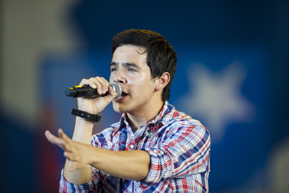 We're giving away 2 tickets to the @DavidArchie concert at the Scera Shell on Monday. Follow us and RT to enter. https://t.co/X1C20DSi4C