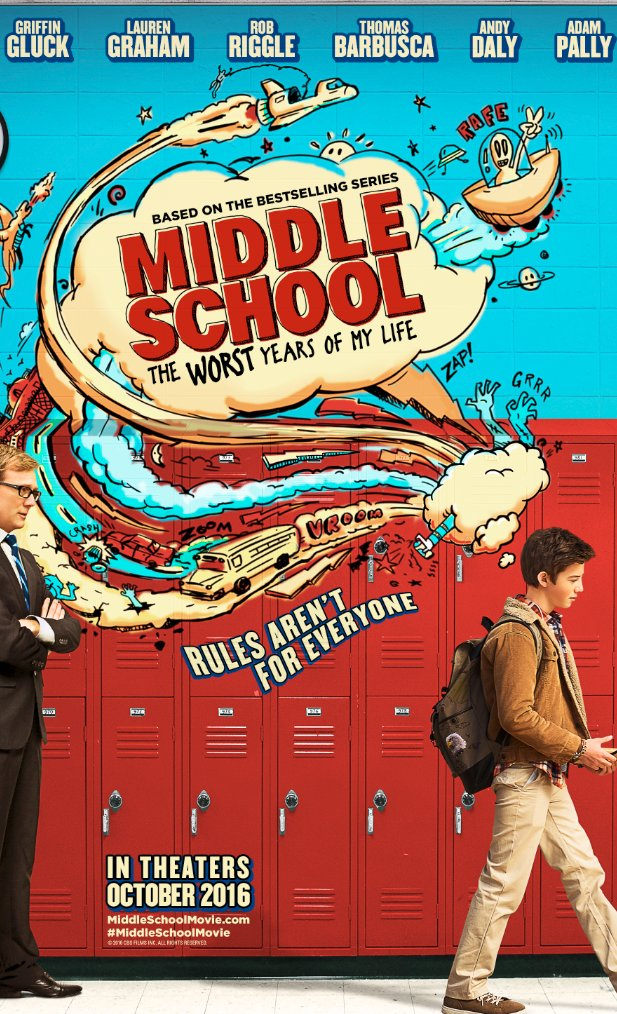 Middle School: The Worst Years of My Life Trailer 1