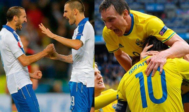 ITALIA-SVEZIA Streaming gratis Rojadirecta DIRETTA TV oggi 17 giugno EURO 2016