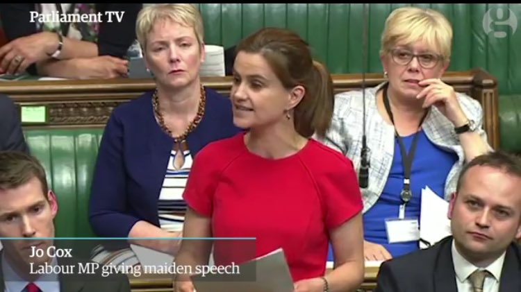 EVERY student in EVERY school should be told the story of Jo Cox: democracy, the bedrock of our society #Assemblies https://t.co/6IKcD2WLTi
