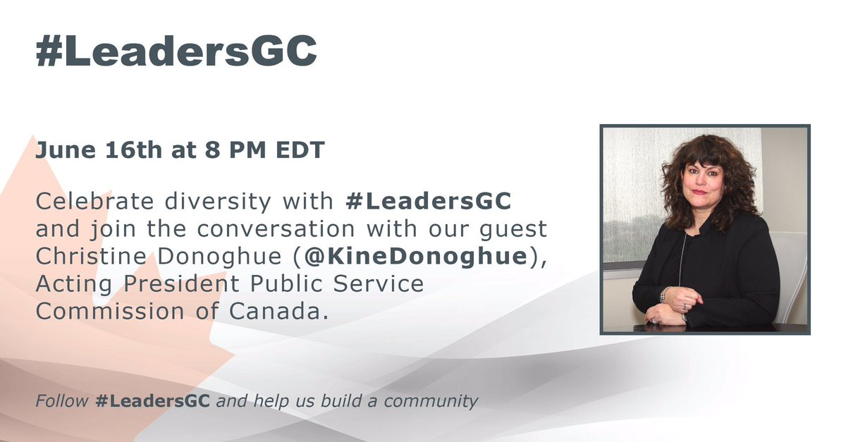 In less than 3 hours! - #LeadersGC chat on diversity with @KineDonoghue! #GC2020 https://t.co/qYpHd6qdMJ