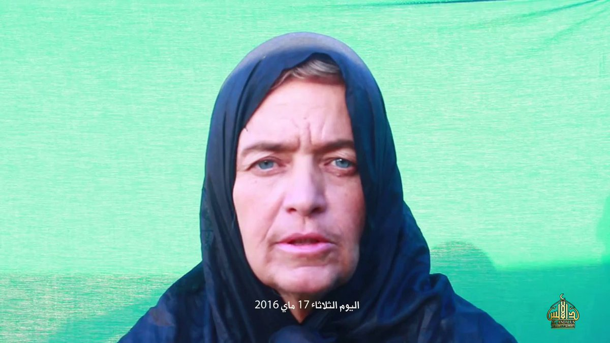 Al Qaeda Islamic Maghreb posts 'proof of life' video showing Christian missionary Beatrice Stockly kidnapped in Mali