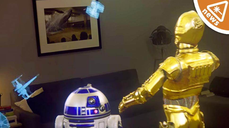 This New STAR WARS Augmented Reality is Jaw-Dropping