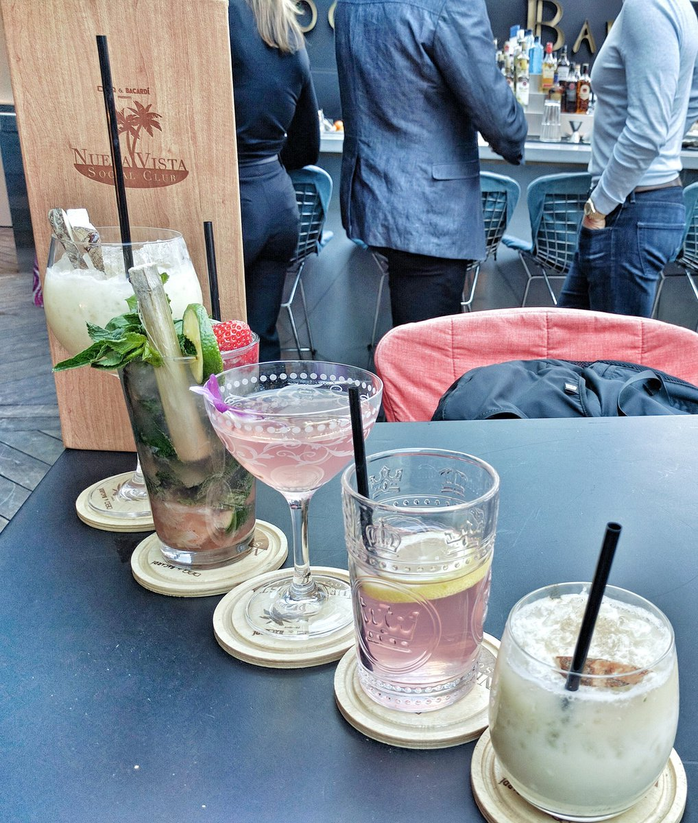 Various cocktails at the DEQ Terrace and Lounge Patio Launch at The Ritz-Carlton Toronto
