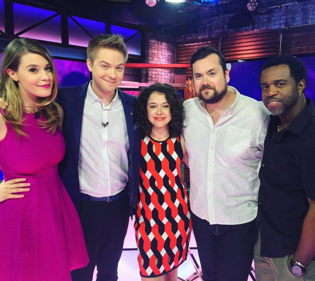 Tonight we're wrapping up @OrphanBlack season 4 with @tatianamaslany @TheBruun & @KevinHanchard on #aftertheblack! https://t.co/MRUL3uqqsV
