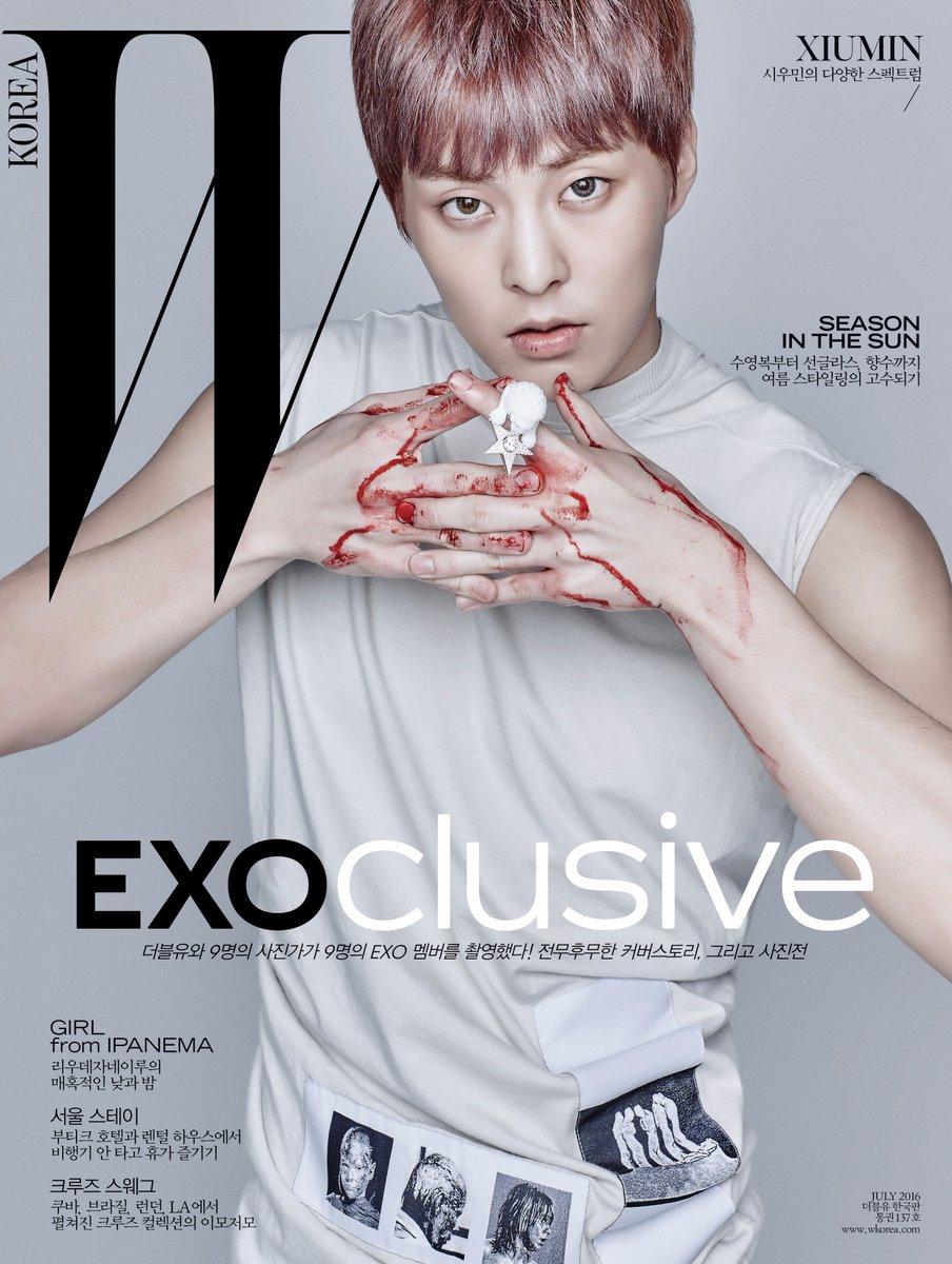 #EXOclusive Cover 9 #XIUMIN <W Korea>와 SM엔터테인먼트의 독점 콜라보레이션 프로젝트, #EXO 멤버 9종 커버 공개! 자세한 정보는 https://t.co/XJCMXskAFK