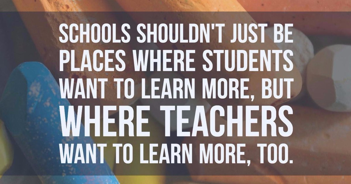 Grateful to work with amazing educators and colleagues who always want to learn more! #growthmindset https://t.co/JOOKCI3z35