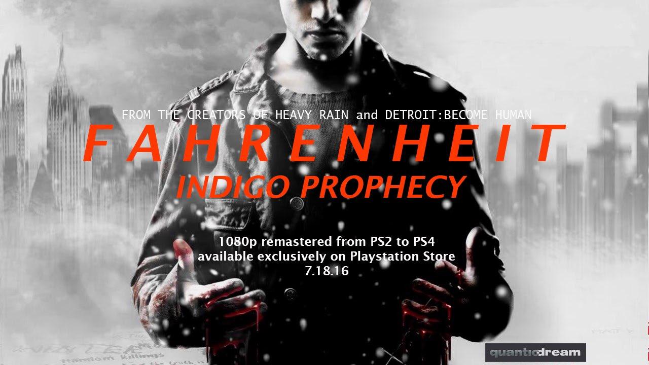 Fahrenheit: Indigo Prophecy Remaster Coming To PlayStation 4 1