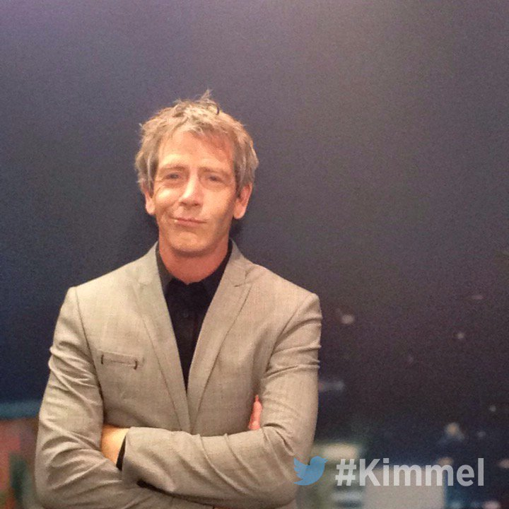My favorite actor and all around rock solid dude Ben Mendelsohn on @JimmyKimmelLive tonight. #Mendelvision